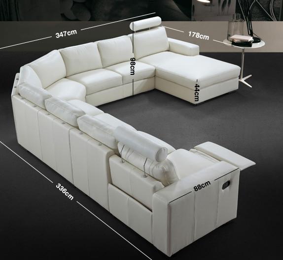Navelli Corner Sofa