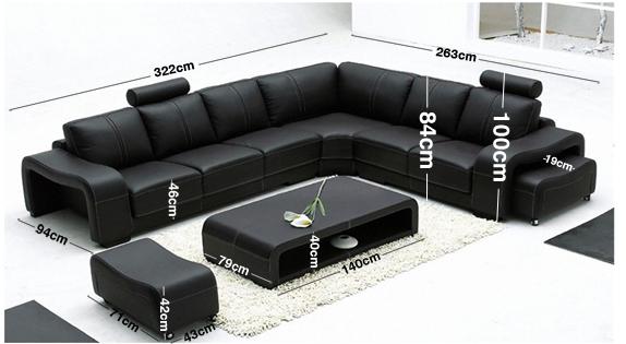 Palermo Corner Sofa