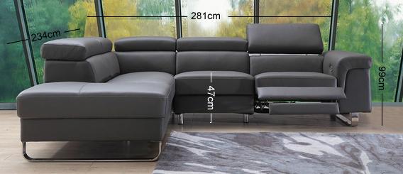 Salone Corner Sofa