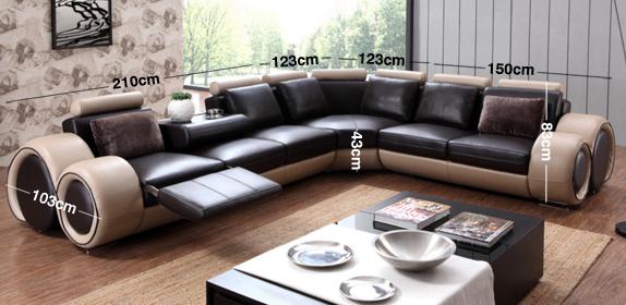 Swirl Corner Sofa