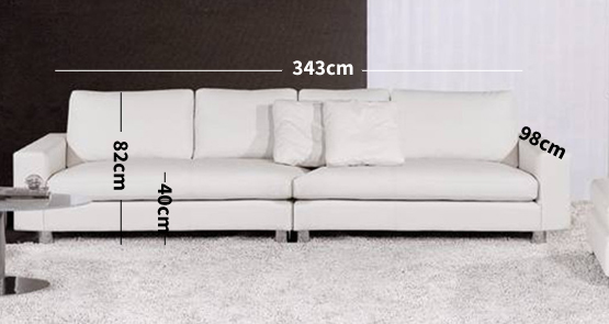 Zara 5 Seater Sofa